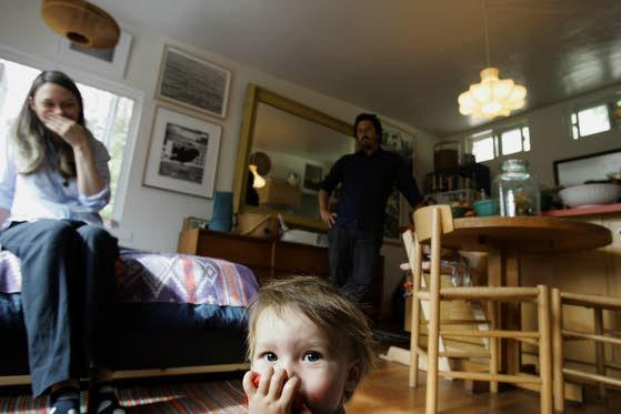 Raising a family in California in 380 square feet - by choice