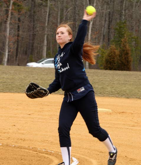 Softball: Atlatnic City pitcher Maddie Taggart happy to rejoin team following offseason surgery
