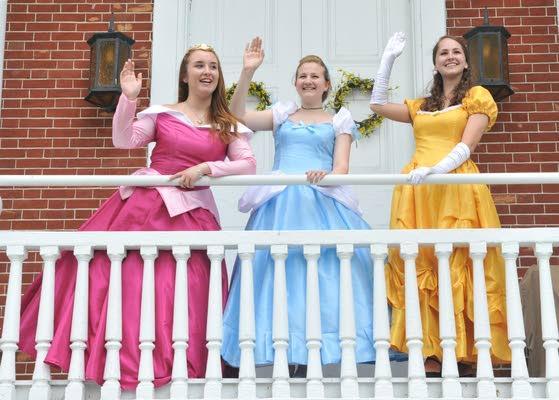 Mays Landing woman builds business  on idea that children love princesses