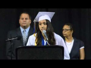 Valedictorian speech by Dominique Voso, Atlantic City High School