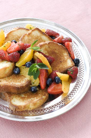 Pan-seared pound cake makes easy Easter dessert