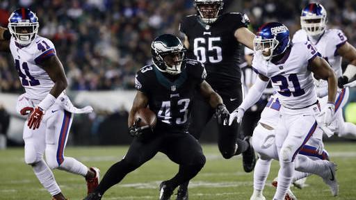 Eagles 24, Giants 19
