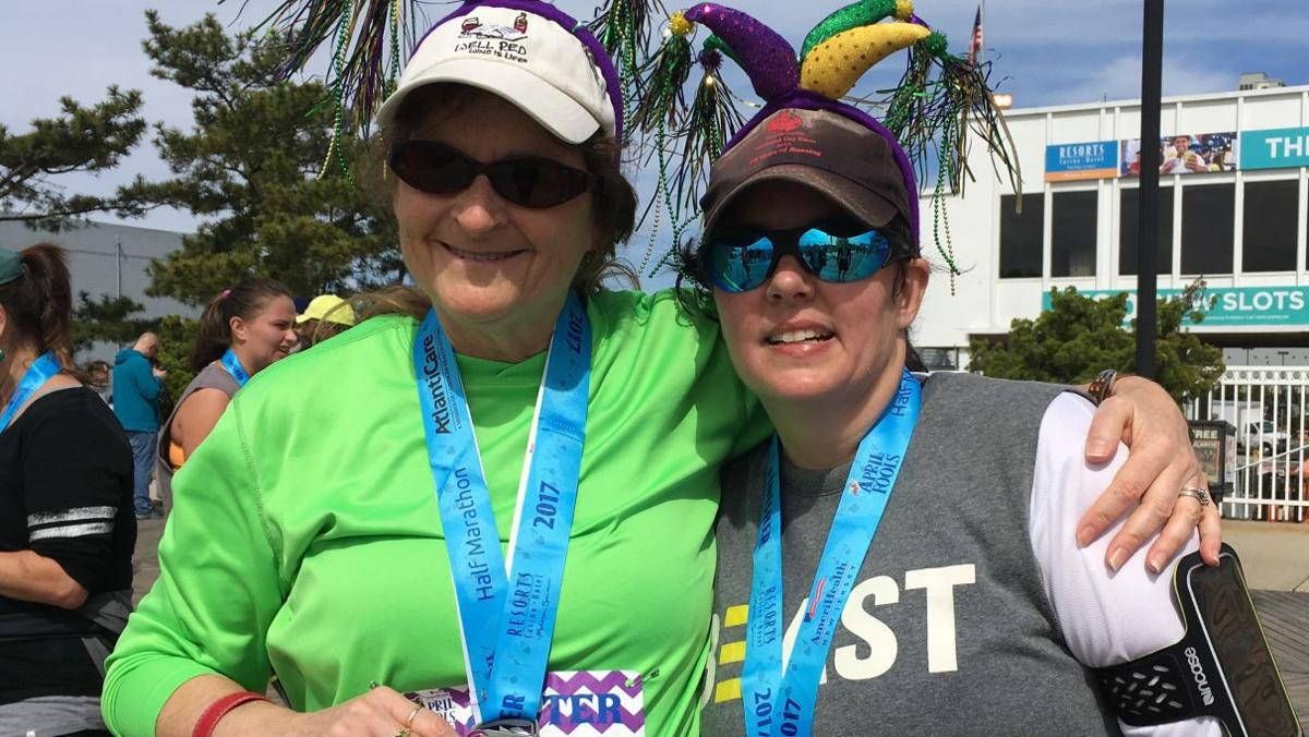 SEEN at Atlantic City April Fools Half Marathon