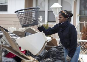 Volunteers gather to help A.C. clean Sandy debris off streets
