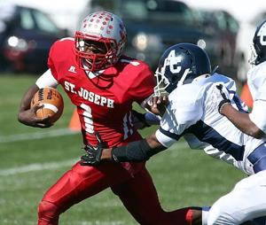C.J. LaFragola stars on both sides of ball for No. 4 St. Joe