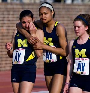 Former Southern Regional star Danielle Tauro leads on and off the track