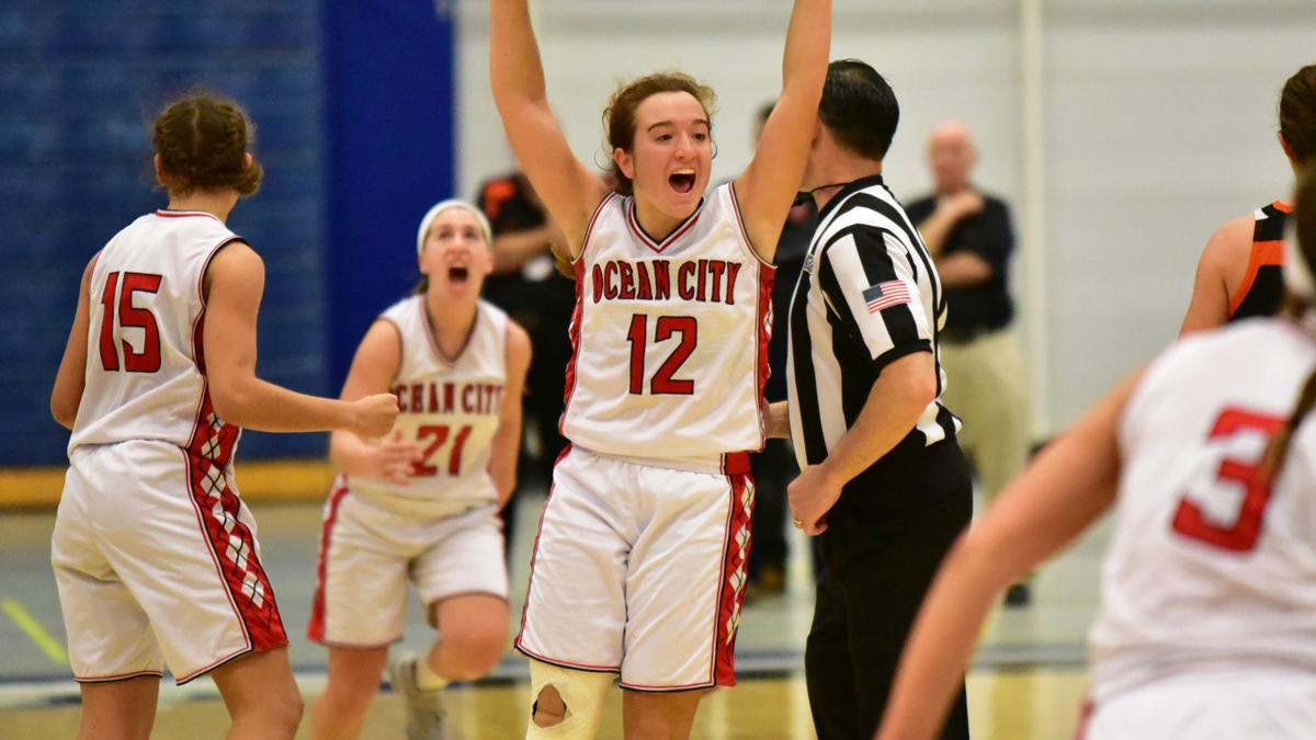 Ocean City vs. Middle in CAL girls basketball final