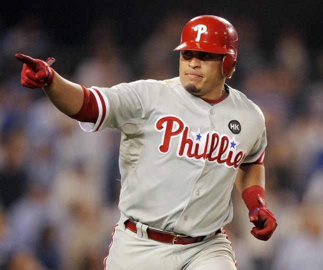 Phillies Ruiz Baseball