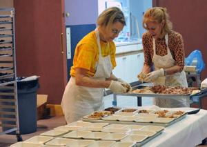 Food from the heartManna at the Shore volunteers prepare meals  for those who are too sick to cook for themselves