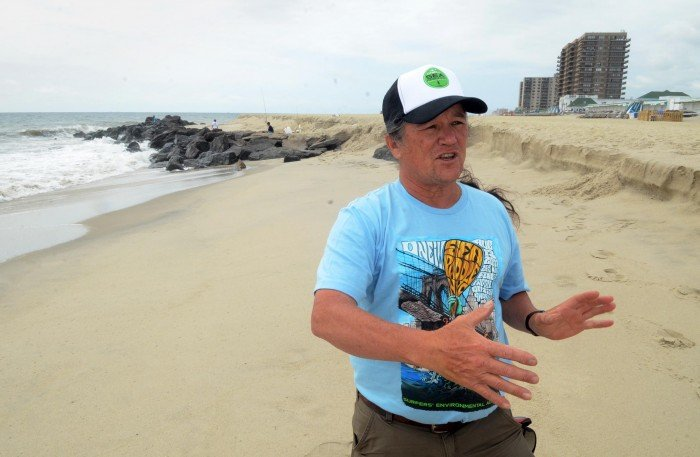 Executive Director of Surfers' Environmental Alliance Richard Lee