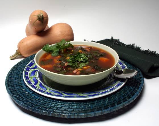 Southwestern bean soup, made better