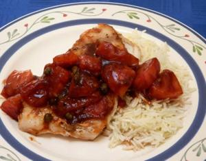 Ketchup is secret ingredient in glazed grouper recipe