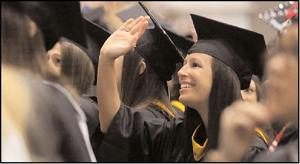 Moms, reunions mark spring commencement