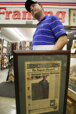 Absecon Main Street Story: Rob Tudor of Galloway Township shops at Home Variety & Framing store on West Jersey Avenue in Absecon Friday, May 31, 2013.  - Photo by Edward Lea