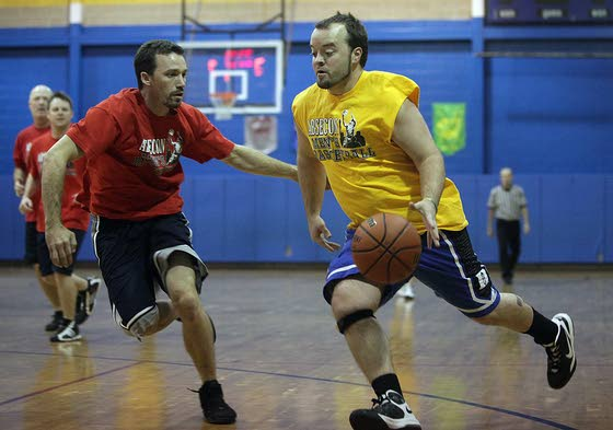 To compete in this league, players must be volunteer youth coaches in Absecon