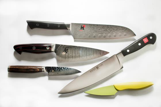 So many knives to choose from in Asian, European styles