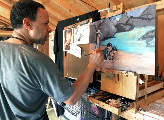 With preparation, making art is 'inevitable'