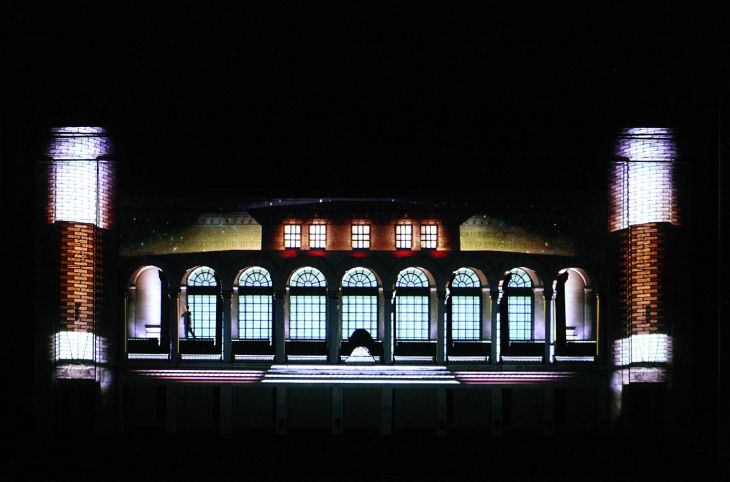 Boardwalk Hall 3-D light show
