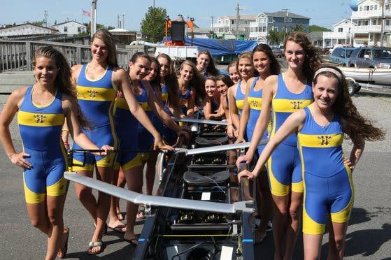 Crew All-Stars: Holy Spirit's varsity eight and lightweight eight keep Spartans near top all season