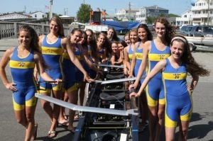Crew All-Stars: Holy Spirit's Varsity Eight And Lightweight Eight Keep Spartans Near Top All Season: Members of the Holy Spirit High School girls crew varsity eight and lightweight boats were successful this spring.