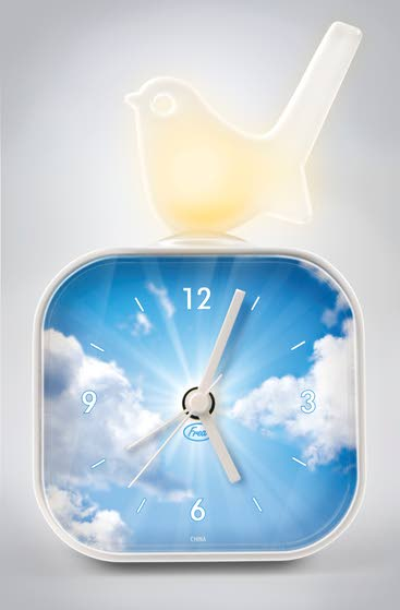 Cool clocks can help the time tick by more stylishly