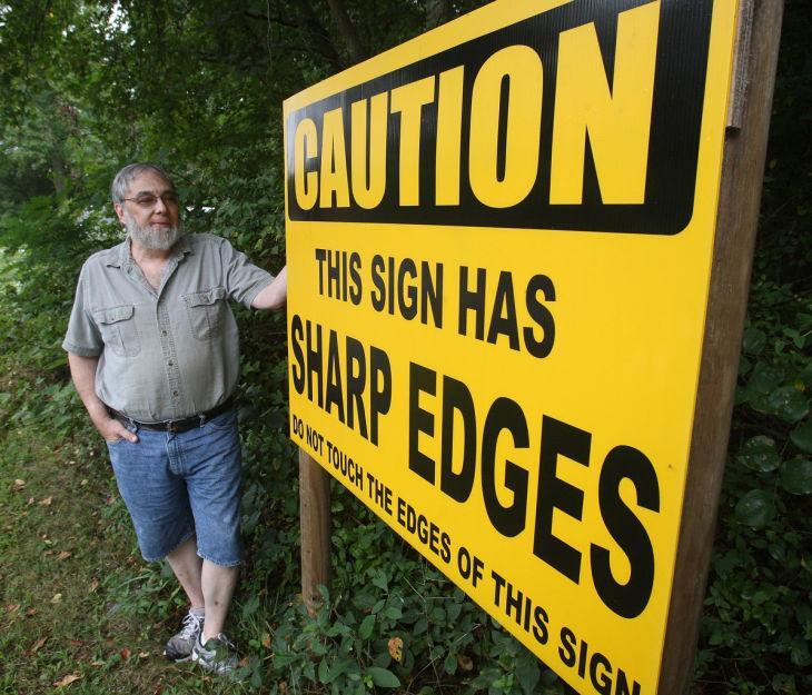 Odd Sign Man