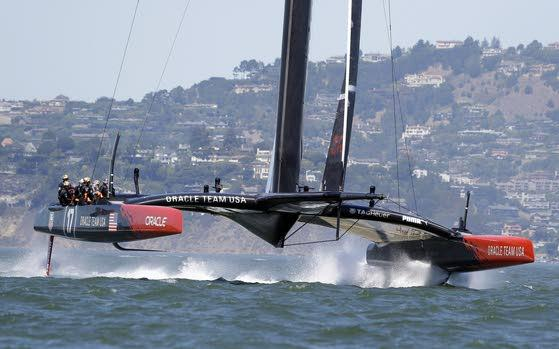 Fast catamarans will be the stars at America's Cup