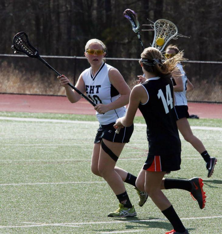 Middle vs. EHT girls lacrosse