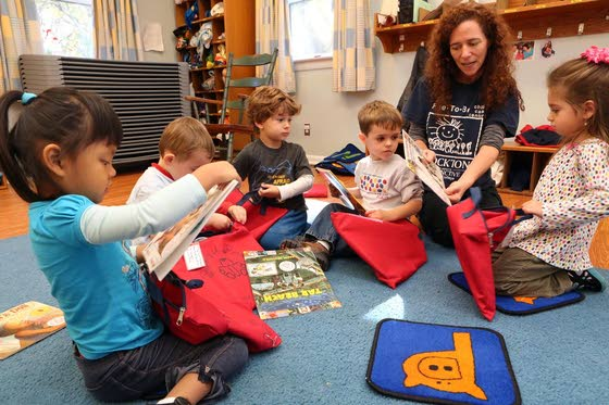 A success with storiesVolunteers encourage kids to become readers