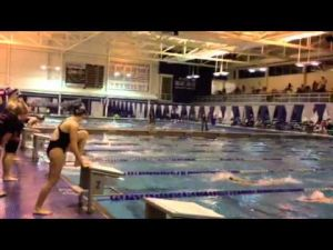 Atlantic City's Melissa Toy swims the 100 freestyle in SJ Public A final