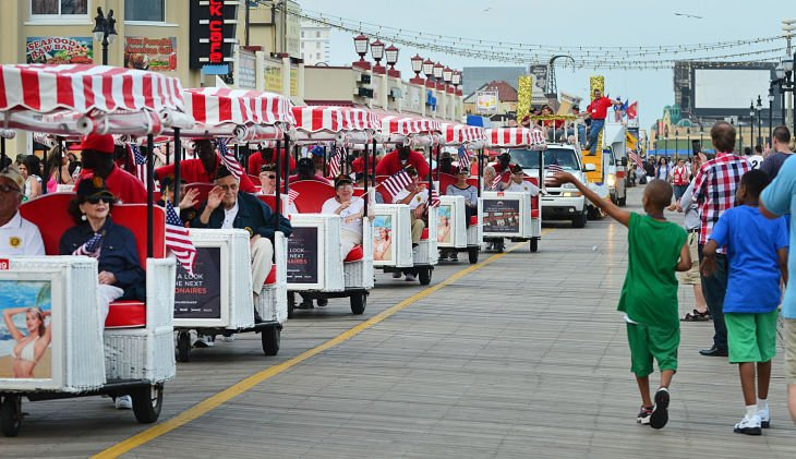 Atlantic City Salutes Armed Forces Parade Gallery