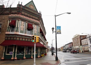 : Downtown Hammonton is being recognized as a semi-finalist in a national Great American Main Street Award. They are one of eight in the nation. Monday Feb 11, 2013. (Dale Gerhard/The Press of Atlantic City)  - Photo by Dale Gerhard