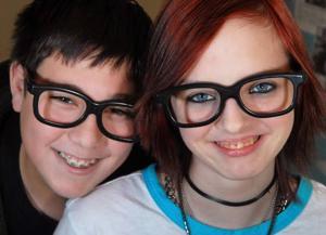 Local teens embrace 3-D glasses as latest fashion fad
