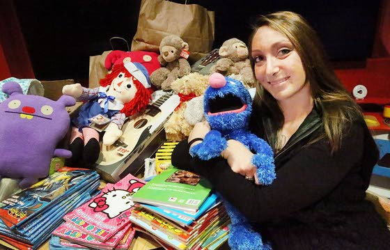 Margate student works to bring gifts to children in the hospital