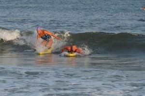 Women Lifeg: Ocean City Beach Patrol Women's Invitational Wednesday, July 24, 2013. - Edward Lea