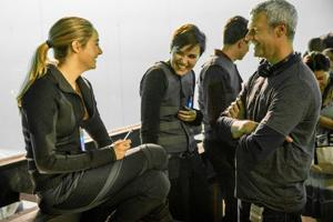 Film: 'Divergent' author pleased with transition to the big screen