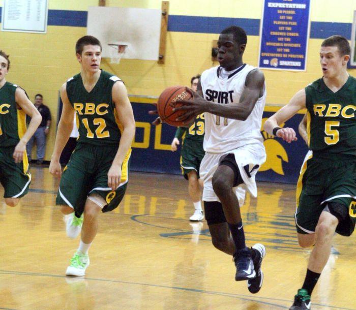 Holy Spirit basketball playoff