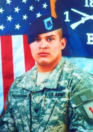 Vet 2: Eric G. Palacios Rivera died in Iraq seven years ago.  - Family photo