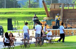 Free music and events draw visitors to A.C.'s art parks