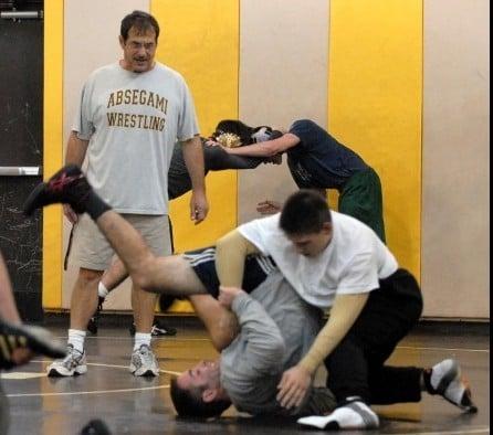 Gene Barber Absegami wrestling