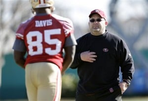 Greg Roman,  Vernon Davis