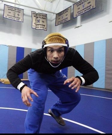 Antonio Mancella Oakcrest wrestler Feb. 2, 2012