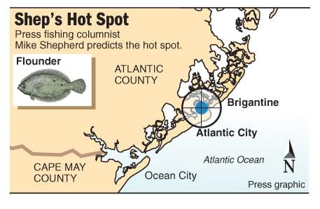 Hot Spot flounder