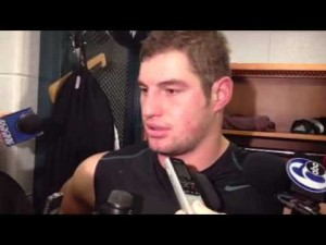 Brent Celek talks aboout the Eagles' loss to the Redskins, Dec. 23, 2012