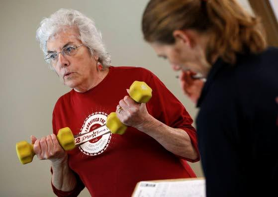 Cancer patients take their fight to the gym
