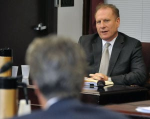 CCC REVEL: Interim Revel CEO Jeffrey Hartmann testifies Wednesday at the NJ Casino Control Commission in Atlantic City. The CCC gave regulatory approval to Revel's bankruptcy plan of reorganization.  - Michael Ein