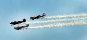 Airshow Practice: Raiders Aerobatic Team. Tuesday June 25 2013 Atlantic City AirShow practice. (The Press of Atlantic City / Ben Fogletto) - Ben Fogletto