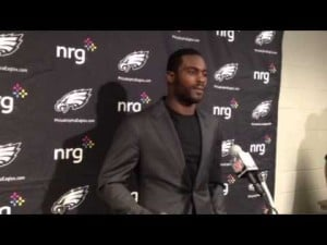 Michael Vick talks about the Eagles' loss to the Cardinals, Sept. 23, 2012