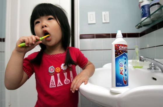 Is toothpaste giving  your kid allergies?