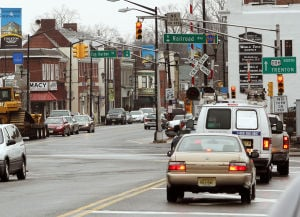 : Downtown Hammonton is being recognized as a semi-finalist in a national Great American Main Street Award. They are one of eight in the nation. Monday Feb 11, 2013. (Dale Gerhard/The Press of Atlantic City)  - Dale Gerhard